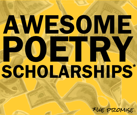 Poetry + Scholarships = Awesome